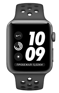 Купить apple watch series 3 38mm aluminum case with nike sport band