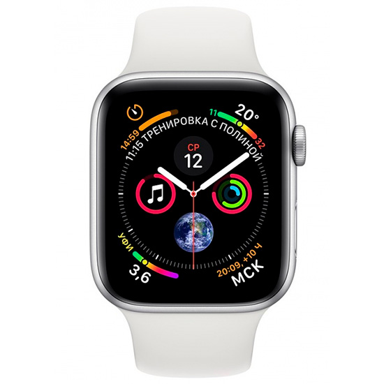 Купить apple watch series 4 44mm алюминий