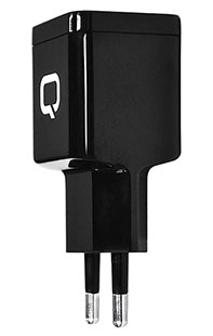 Купить сзу qumo 2usb-a 2.1a    energy charger 0002 + дата кабель s8-pin