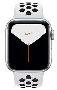 Купить apple watch series 5 44mm aluminum case with nike sport band