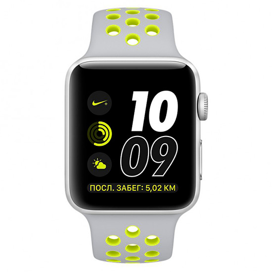 Купить apple watch series 2 42mm алюминий